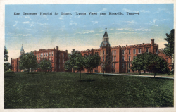 East Tennessee Hospital For The Insane Asylum Projects