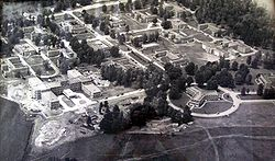 Aerial shot of Benton State Hospital