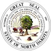 State seal of North Dakota